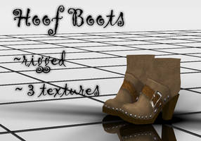 Hoof Boots DOWNLOAD by Reseliee