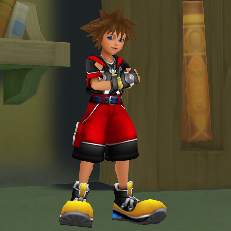 Sora Kingdom Hearts 1520074: Sora (DDD) DOWNLOAD By Reseliee On DeviantArt