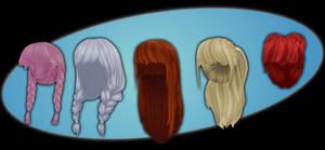 Hair pack 1 DOWNLOAD