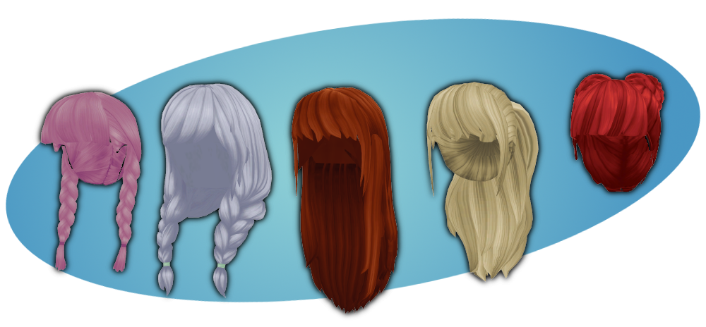 Hair pack 1 DOWNLOAD by Reseliee