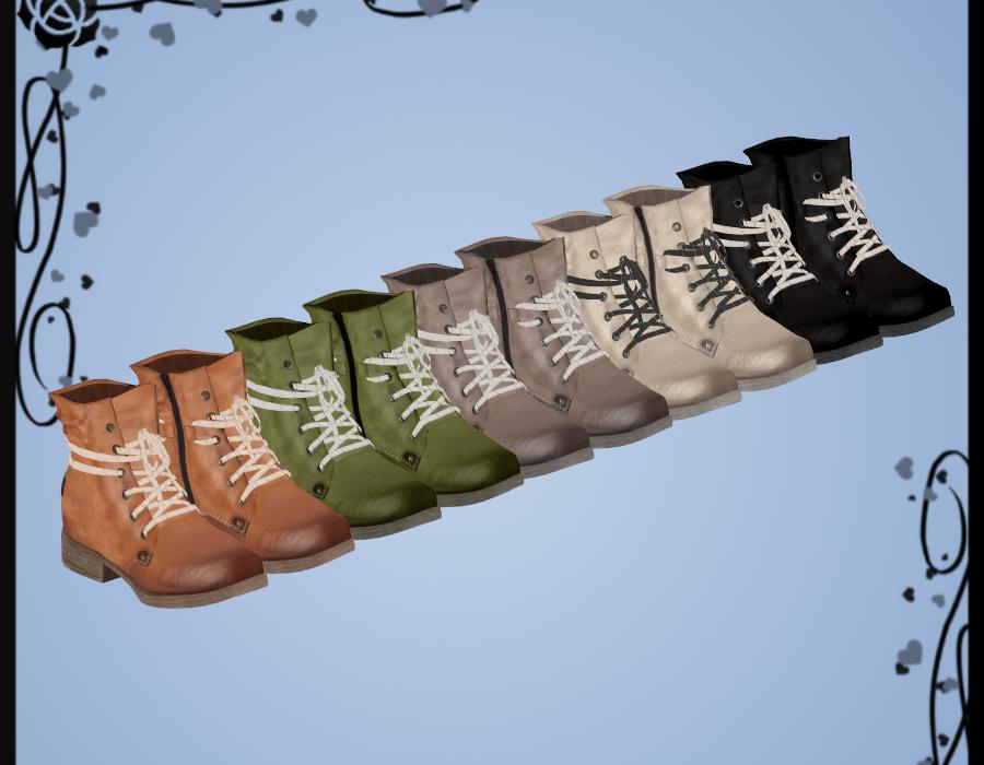 Rieker Boots DOWNLOAD by Kohaku-Ume
