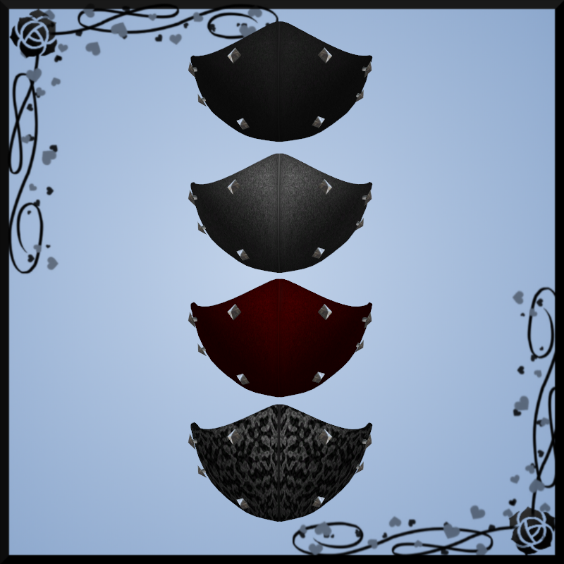 Spiked Face Mask DOWNLOAD by Kohaku-Ume