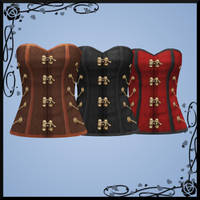 Steampunk Corset DOWNLOAD by Reseliee