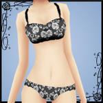 Rose Underwear Textures DOWNLOAD