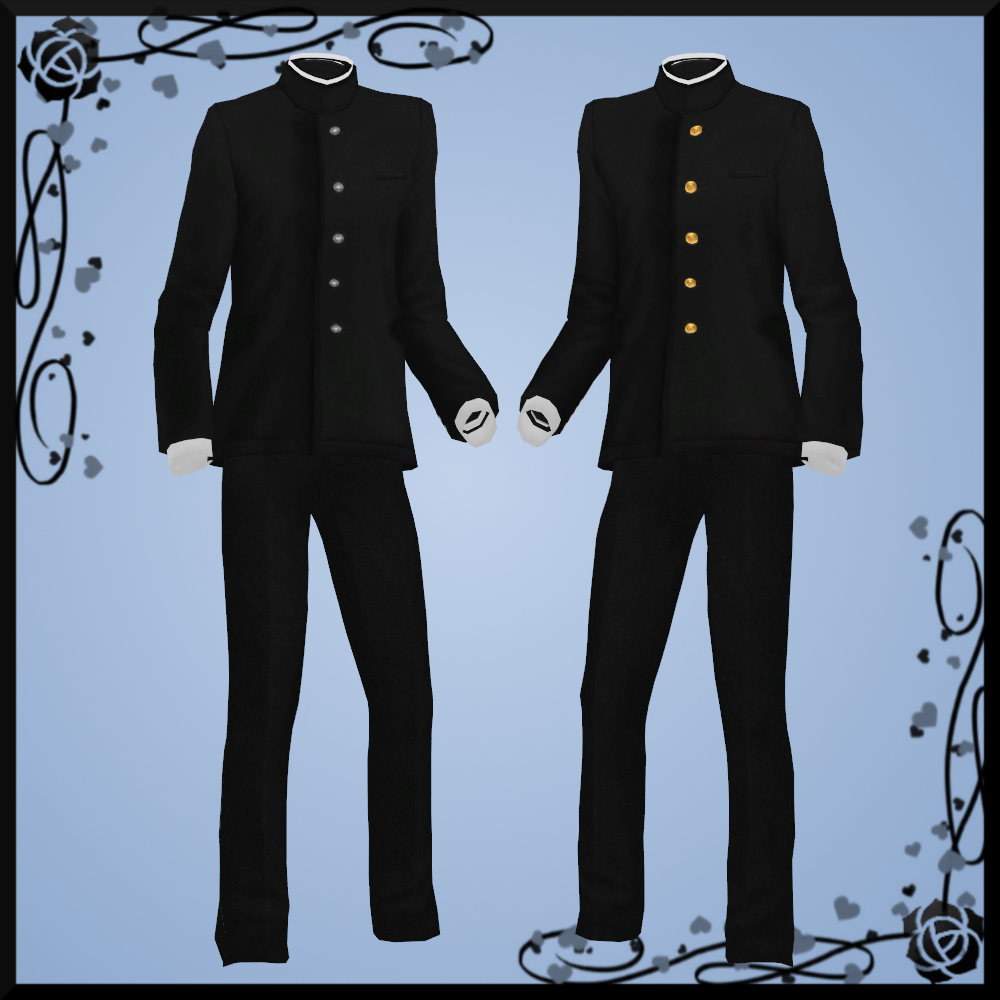 Male School Uniform DOWNLOAD by Reseliee on DeviantArt
