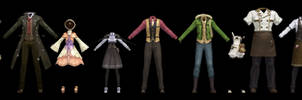 Atelier Clothes Pack 1 DOWNLOAD