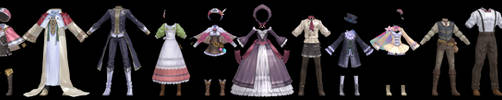 Atelier Clothes Pack 2 DOWNLOAD by Reseliee