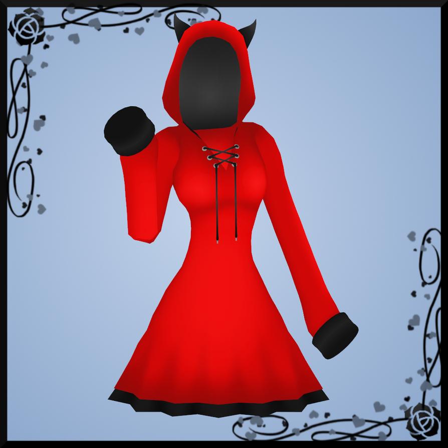 Demon Hoodie Dress DOWNLOAD by Reseliee