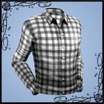 Plaid Dress Shirt (+ plain textures) DOWNLOAD