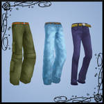 {MMD} Male pants pack DOWNLOAD
