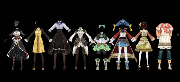 Atelier Clothes Pack 5 DOWNLOAD