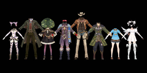 Atelier Clothes Pack 6