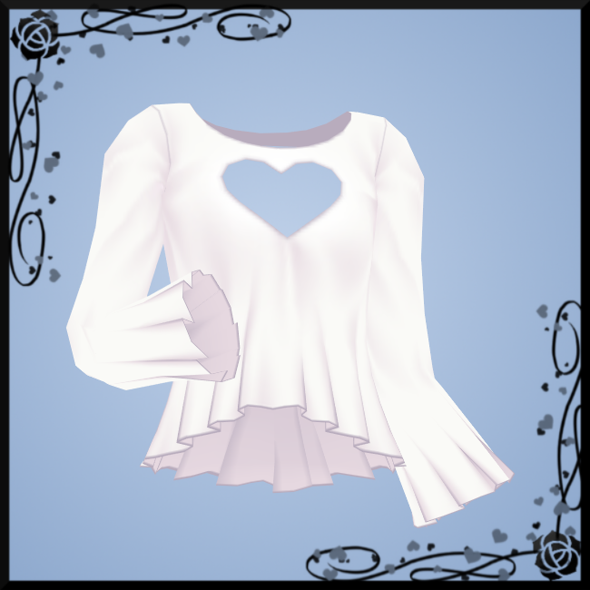 Heart Keyhole Top DOWNLOAD
