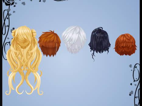 Hair Pack 2 DOWNLOAD