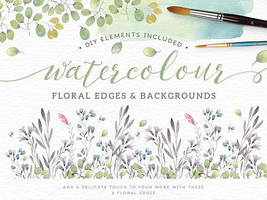 [COLLECT] Flower Watercolour #1