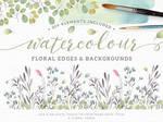 [COLLECT] Flower Watercolour #1 by LittleLeaf2k