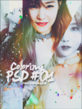 PSD Coloring #01