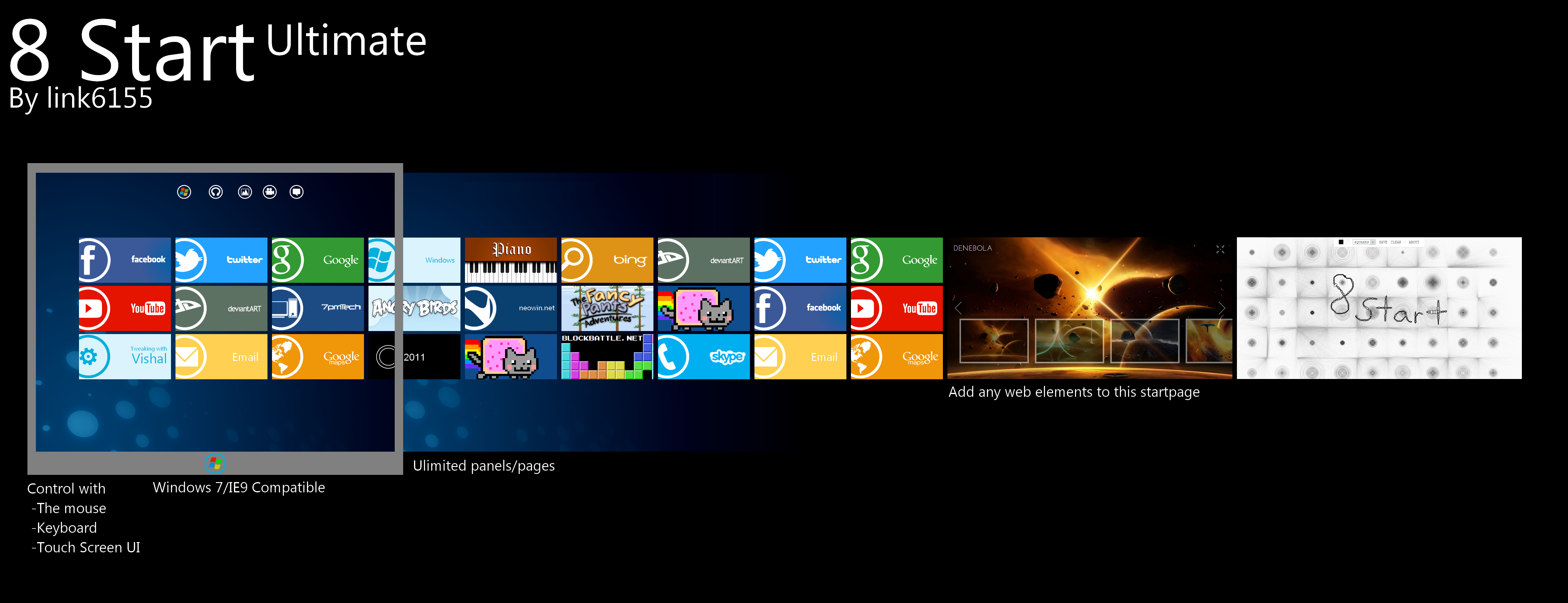Alma Mater.: Windows 8 concept