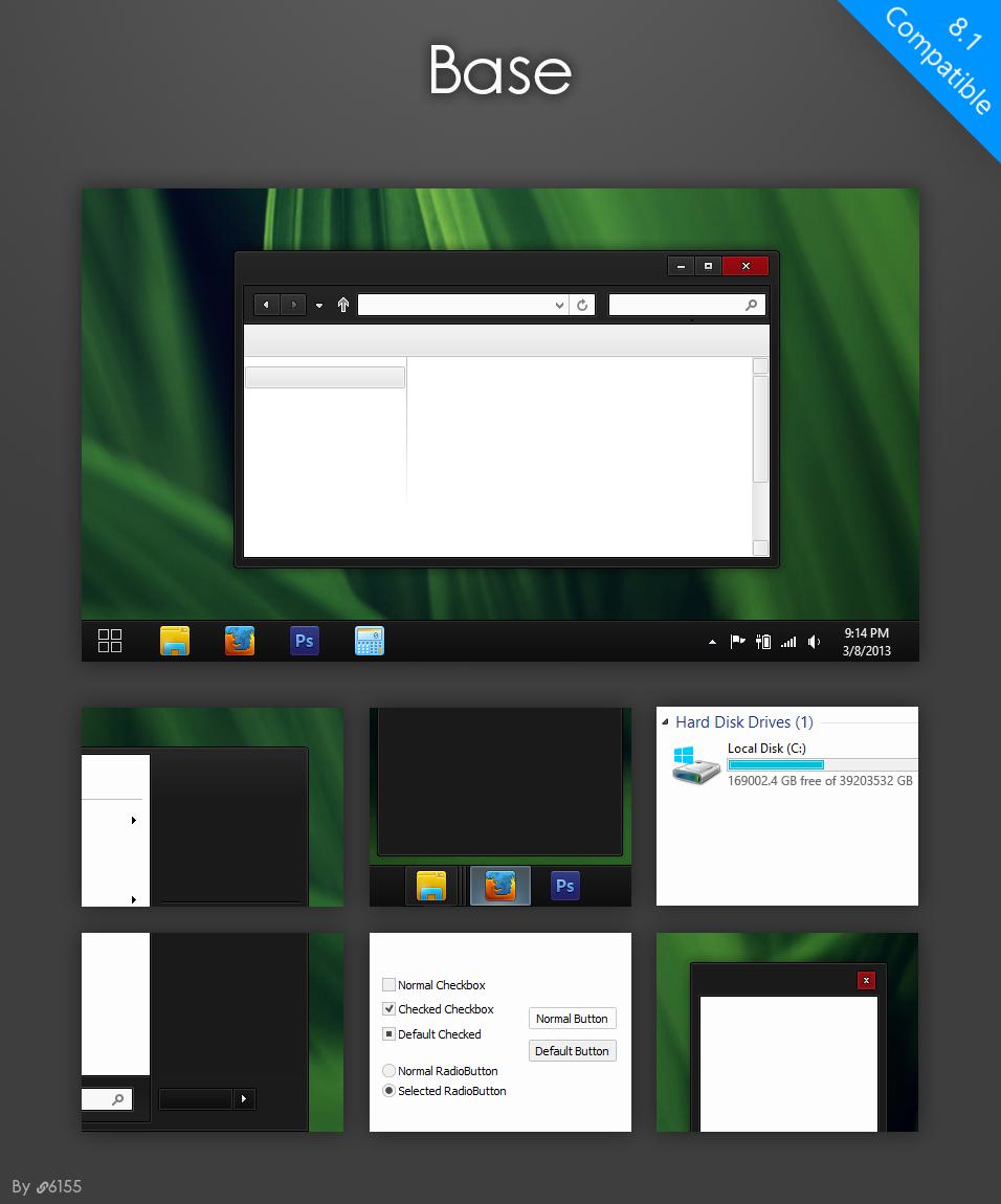 Base Teması (Windows 8.1)