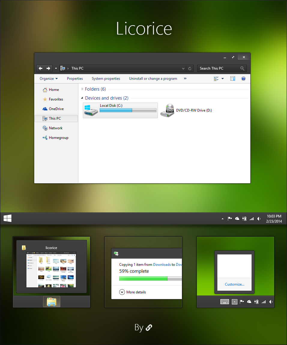 Themes for Windows 10 - Page 2 - Windows 10 - MSFN