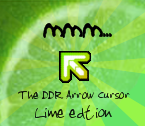 DDR Arrow Cursor Lime Edtion by KaldeaOrchid