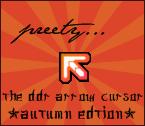 DDR Arrow Cursor Autumn Edtion by KaldeaOrchid