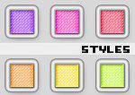 Layer Styles Set 1 by Alice-Grafixx
