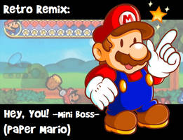 RR: Mini-Boss Battle -Paper Mario- by JamesmanTheRegenold