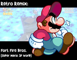 RR: Fort Fire Bros -Super Mario 3D World- by JamesmanTheRegenold