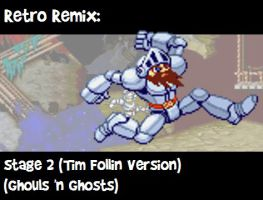 RR: Stage 2 :Ghouls 'n Ghosts: V2 by JamesmanTheRegenold