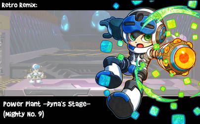 RR: Power Plant (Mighty No 9) by JamesmanTheRegenold