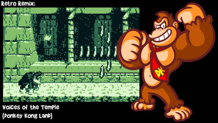RR: Voices of the Temple -Donkey Kong Land- by JamesmanTheRegenold