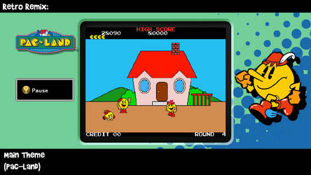RR: Pac-Land Theme V2 by JamesmanTheRegenold
