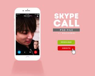 SKYPE CALL. psd by valecarol