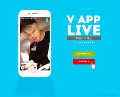 V LIVE APP .psd by valecarol