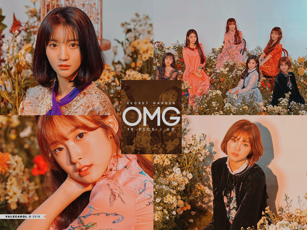 Photopack: OH MY GIRL \'Secret Garden\' by valecarol on DeviantArt