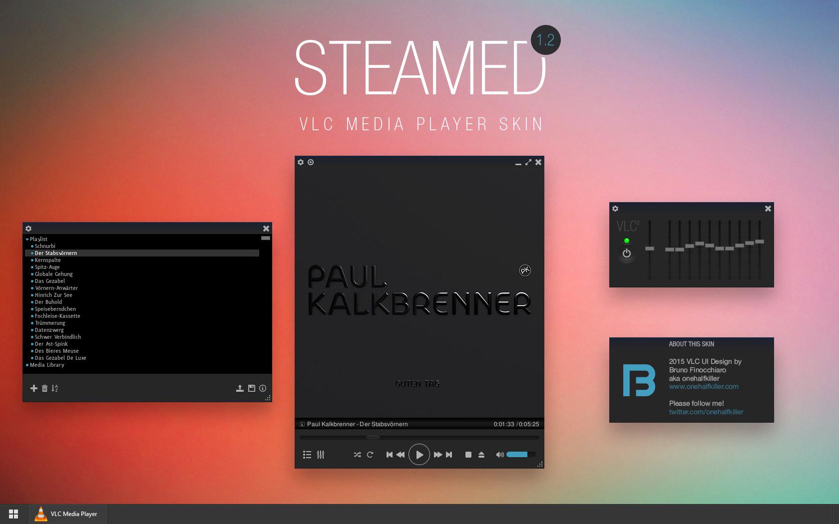 Steamed-VLC-skin