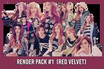Red Velvet [Render Pack #1]
