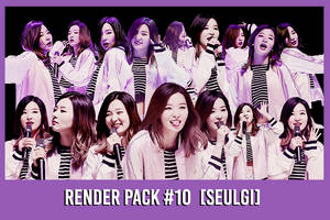 Seulgi [Render Pack #10] by xForeverwitchy