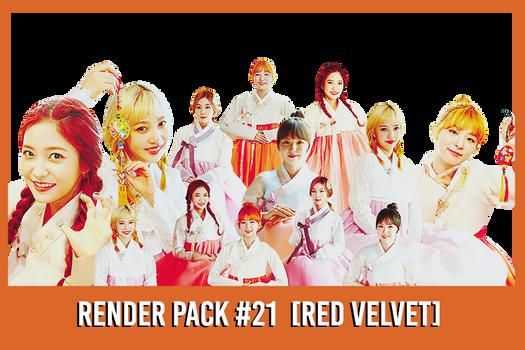Red Velvet [Render Pack #21]