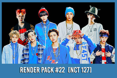 NCT 127 [Render Pack #22] by xForeverwitchy