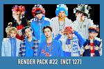 NCT 127 [Render Pack #22]