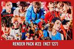 NCT 127 [Render Pack #23]