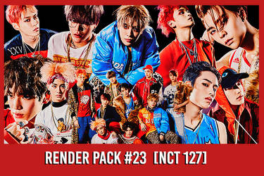 NCT 127 [Render Pack #23] by xForeverwitchy