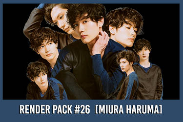 Miura Haruma [Render Pack #26] by xForeverwitchy