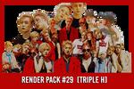 Triple H [Render Pack #29]