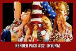 Hyuna [Render Pack #32]