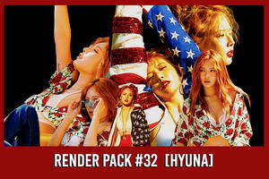 Hyuna [Render Pack #32] by xForeverwitchy