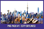 PNG Pack #1 [Skylines]
