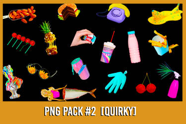 PNG Pack #2 [Quirky] by xForeverwitchy